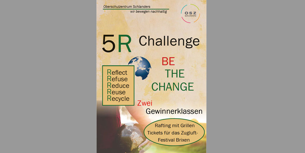 5R Challenge - be the change